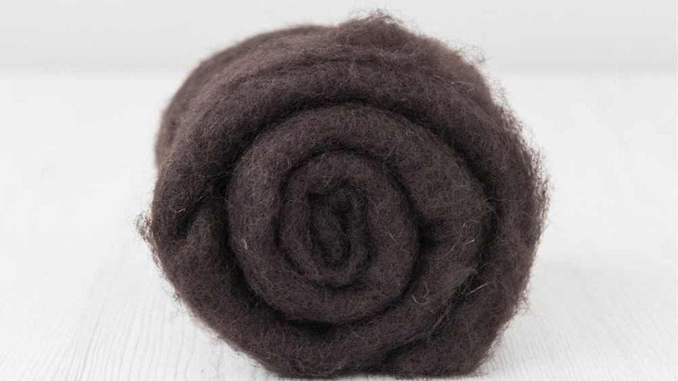 DHG Maori carded wool - Coffee
