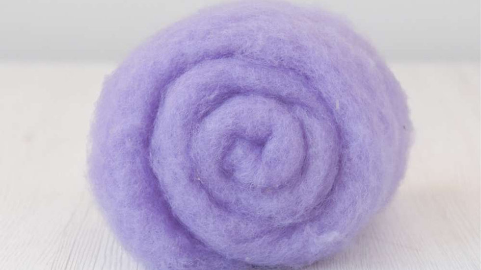 DHG Maori carded wool - Lavender