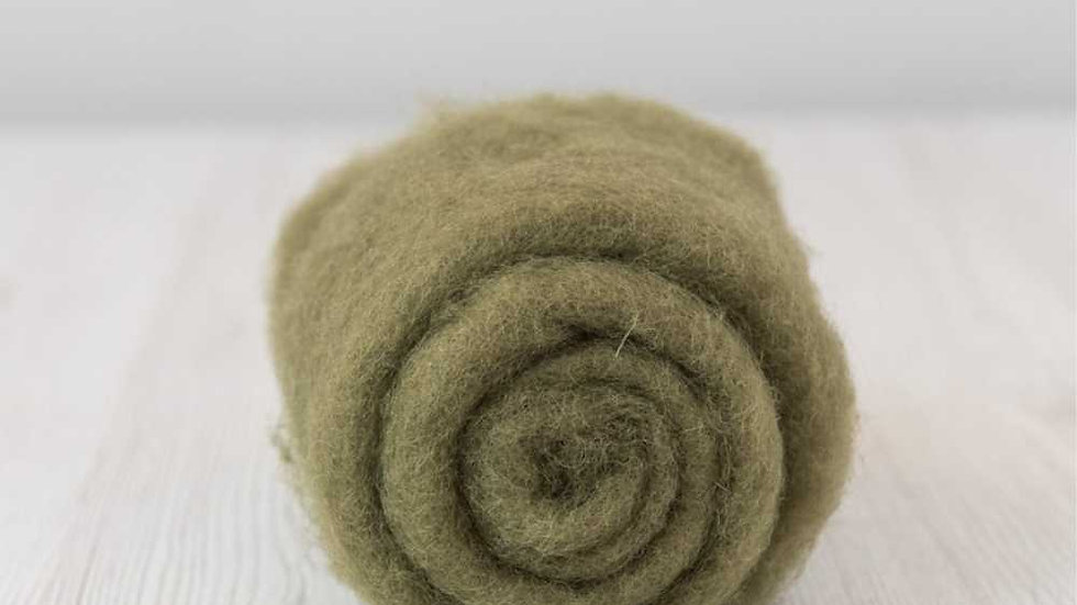 DHG Maori carded wool - Olive