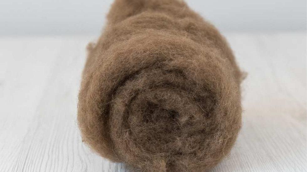 DHG Maori carded wool - Nut