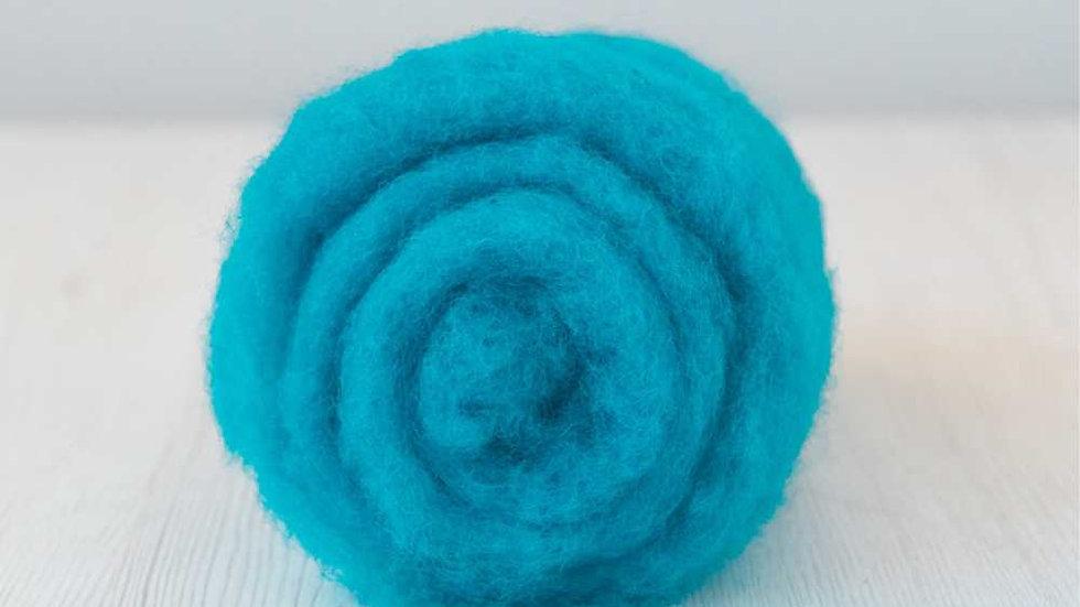 DHG Maori carded wool - Cobalt