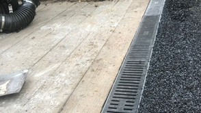 large drainage for problem areas