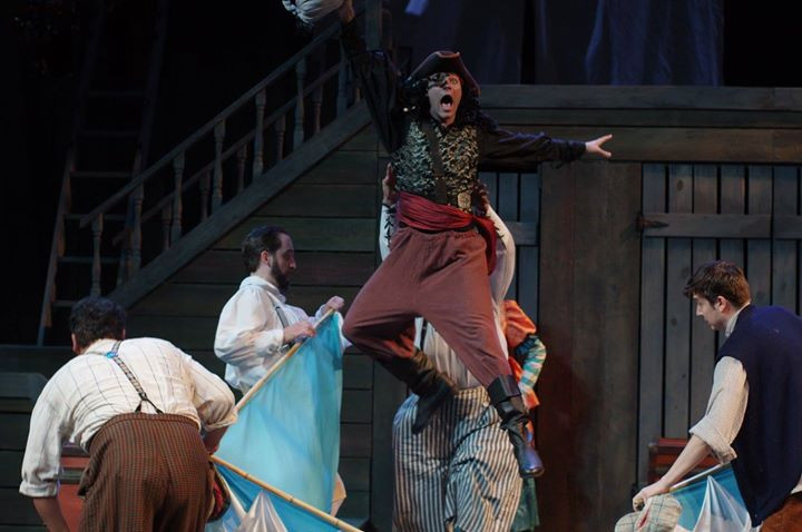 Peter and the Starcatcher at Illinois Shakespeare Festival