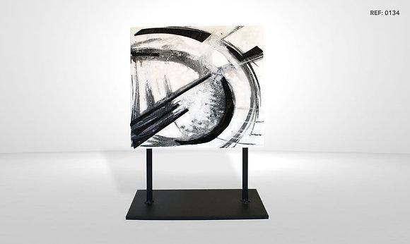 DESIGN GLASS ART PIECE