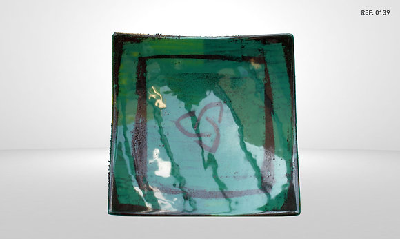 DESIGN GLASS PLATE