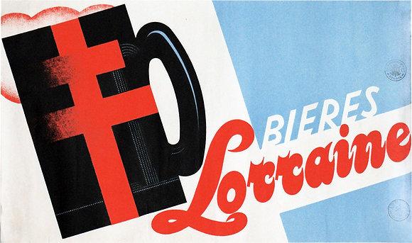 ADVERT BIERE LORRAIN