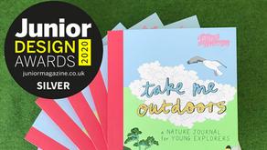 Take Me Outdoors WINS design award!