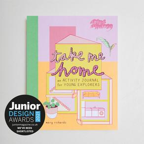 Take Me Home nominated for Junior Design Awards 2021