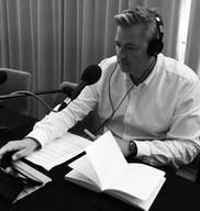 Johnny in the studio