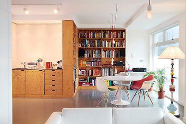 The interior of agnes & aubrey's studio
