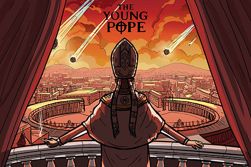 The Young Pope- Fan Poster
