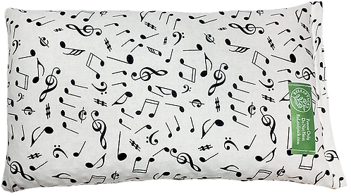 Brushed Music Notes