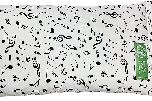 Brushed Music Notes