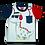 Thumbnail: Conjunto Masculino Dino Fome Vermelho