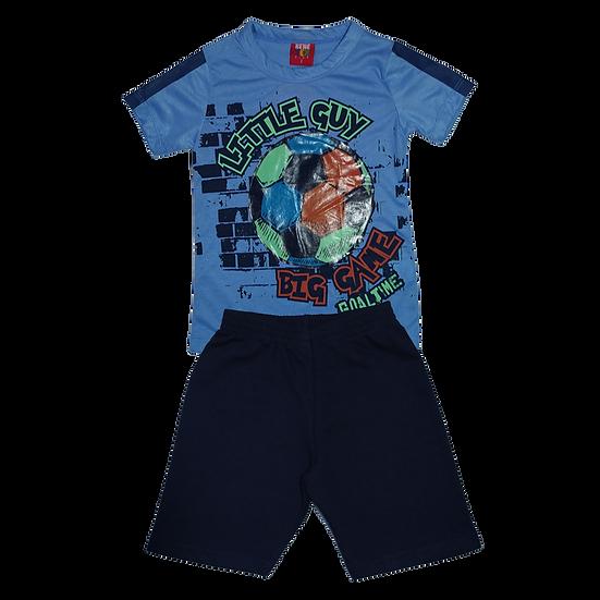 Conjunto Masculino Bola Azul