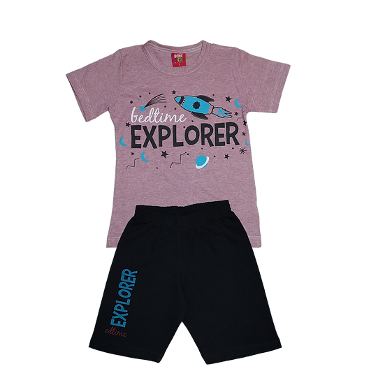 Conjunto Masculino Explorer- Bordo