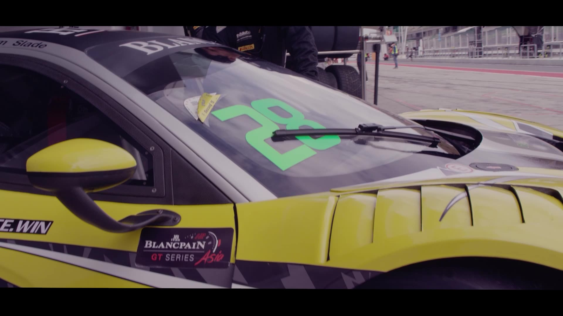 2018 Blancpain GT series Asia.