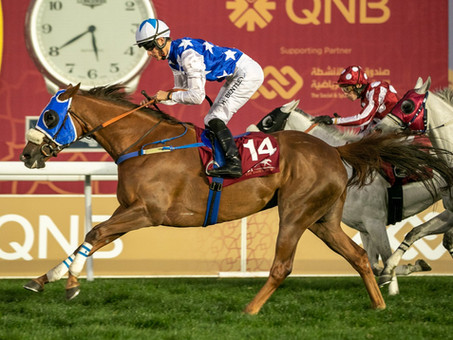 RB Kindle Scores Another Impressive Overseas Victory in the HH The Emirs Sword Sprint Cup!