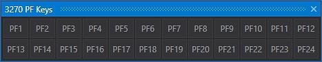 FlexTerm 3270 PF Keys Extenstion