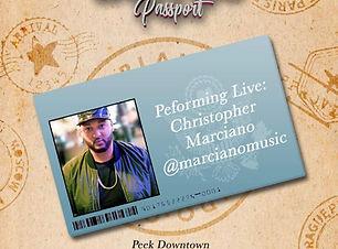 Christopher Marciano Orlando Passport