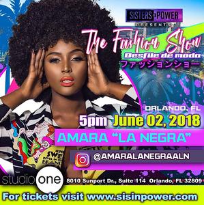 Christopher Marciano Live With Amara La Negra Fashion Show