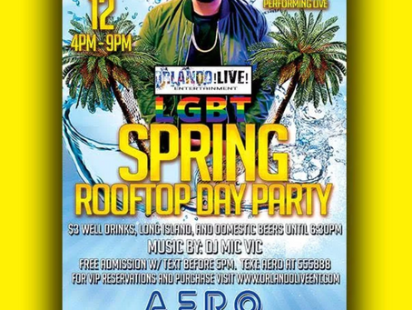 Christopher Marciano: Headlining Aero's Rooftop Party!