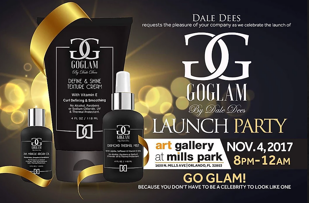 Christopher Marciano: Joining Dale Dees GoGlam Launch Party.