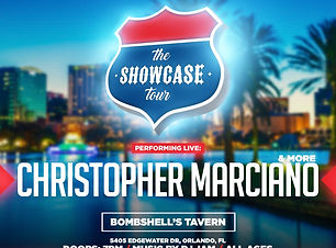 Christopher Marciano At The Showcase Tou