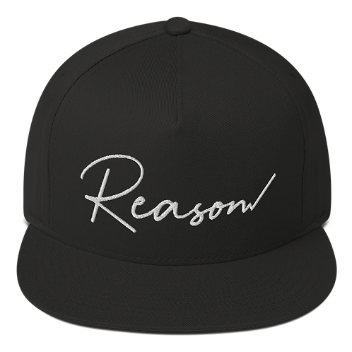 Reason Snapback (White Text) - Green Undervisor