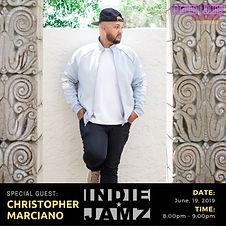 Christopher Marciano On Indie Jamz Radio