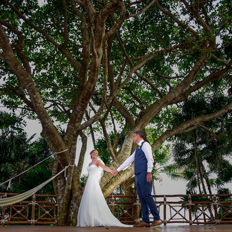 Wedding Day Occidental at Xcaret Destination | Sophie & Thomas
