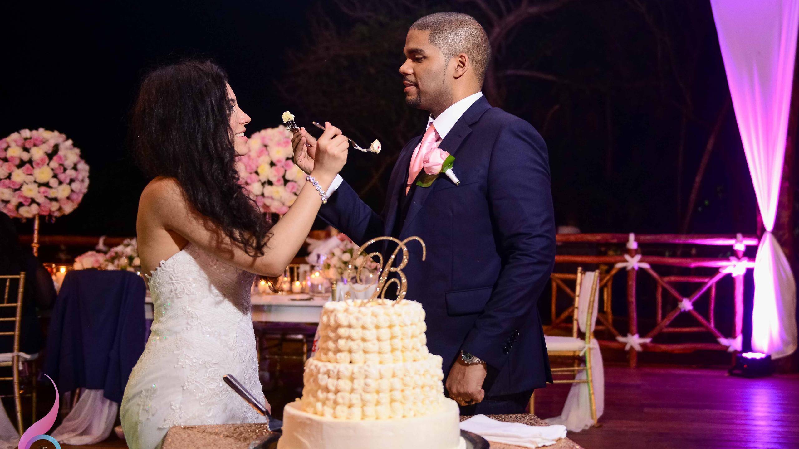 The Cake, Occidental Xcaret Wedding