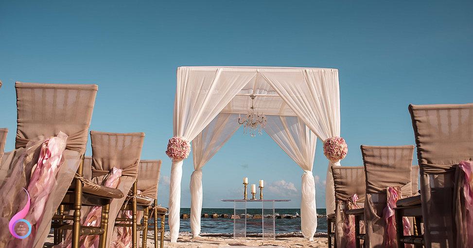 El Dorado Wedding Setup
