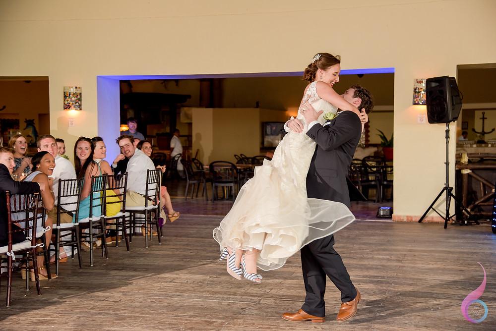 Luxury Wedding, Beach Wedding, Location, Venue, Xcaret Destination, Occidental at Xcaret Destination, First Dance
