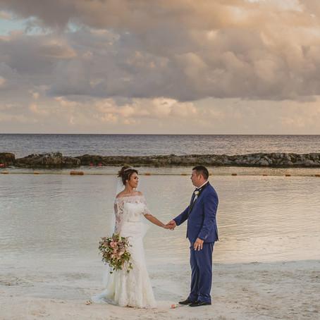 Hard Rock Riviera Maya Wedding Nallely & Mario