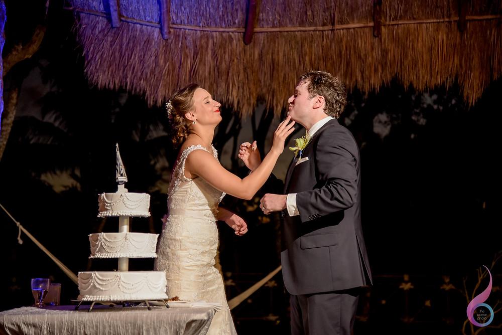 Luxury Wedding, Beach Wedding, Location, Venue, Xcaret Destination, Occidental at Xcaret Destination, First Dance, Cake