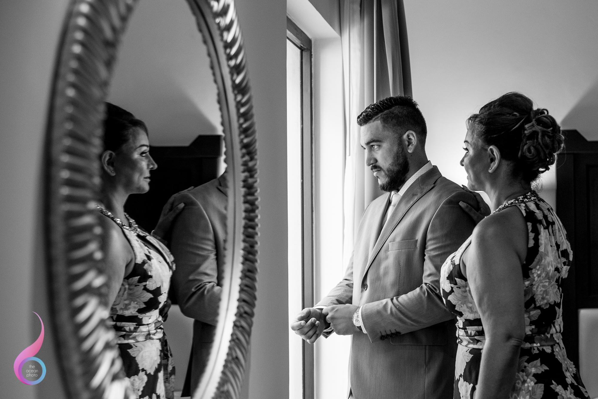 Occidental Xcaret Wedding photo