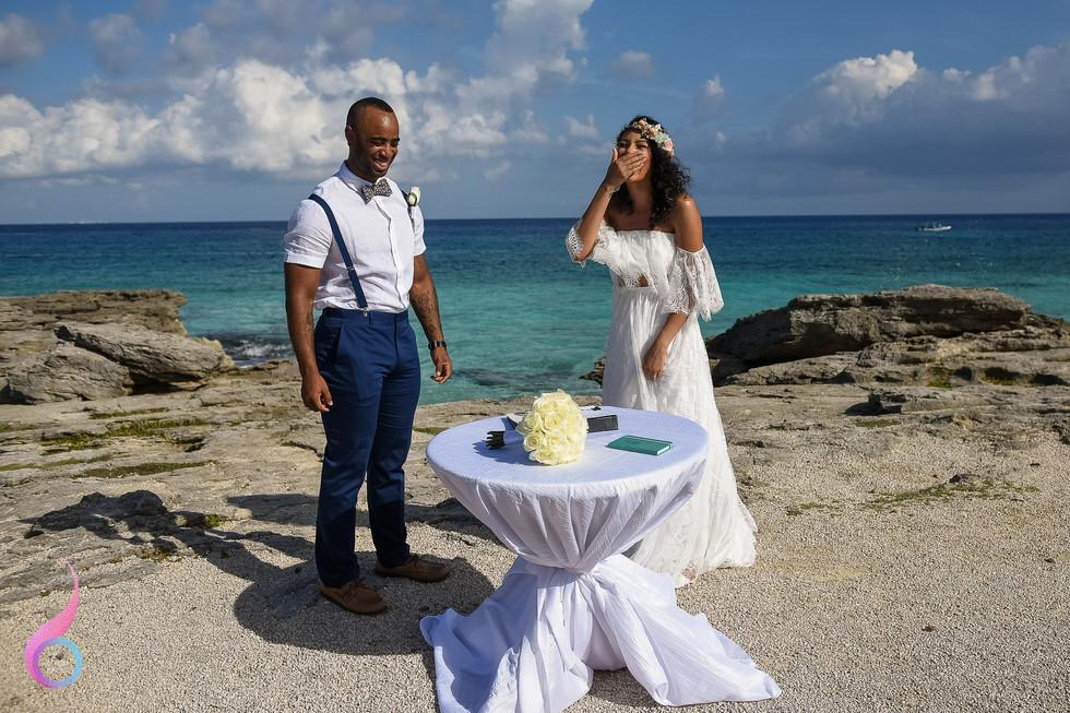Occidental at Xcaret Destination Wedding Photography