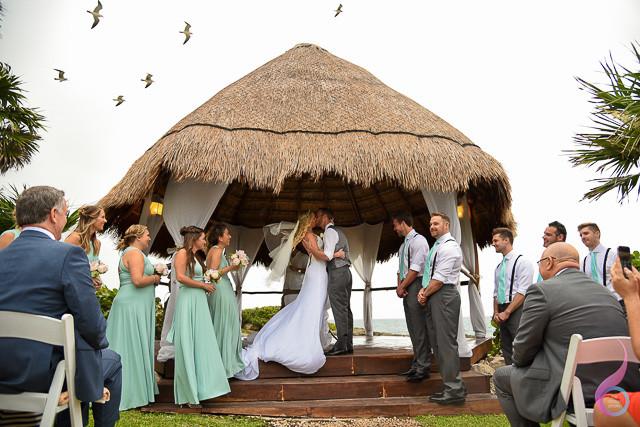 Garden Gazebo Wedding Venue Xcaret