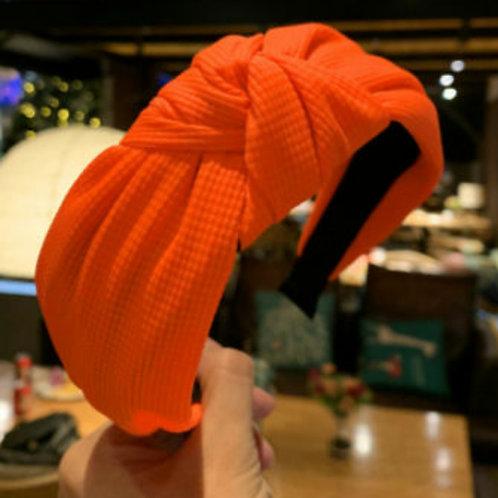 Neon Orange Hairband