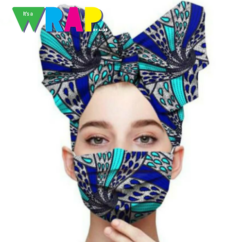Ramonda Africa Head Wrap