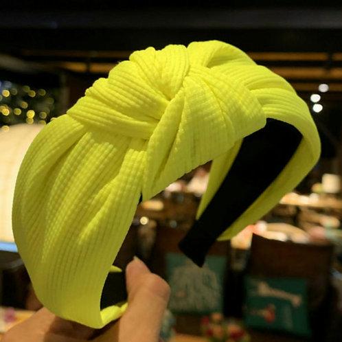 Neon Yellow Hairband