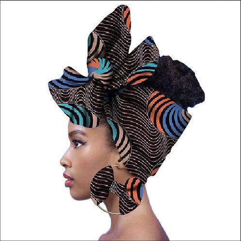 Bianca Headwrap + Earring