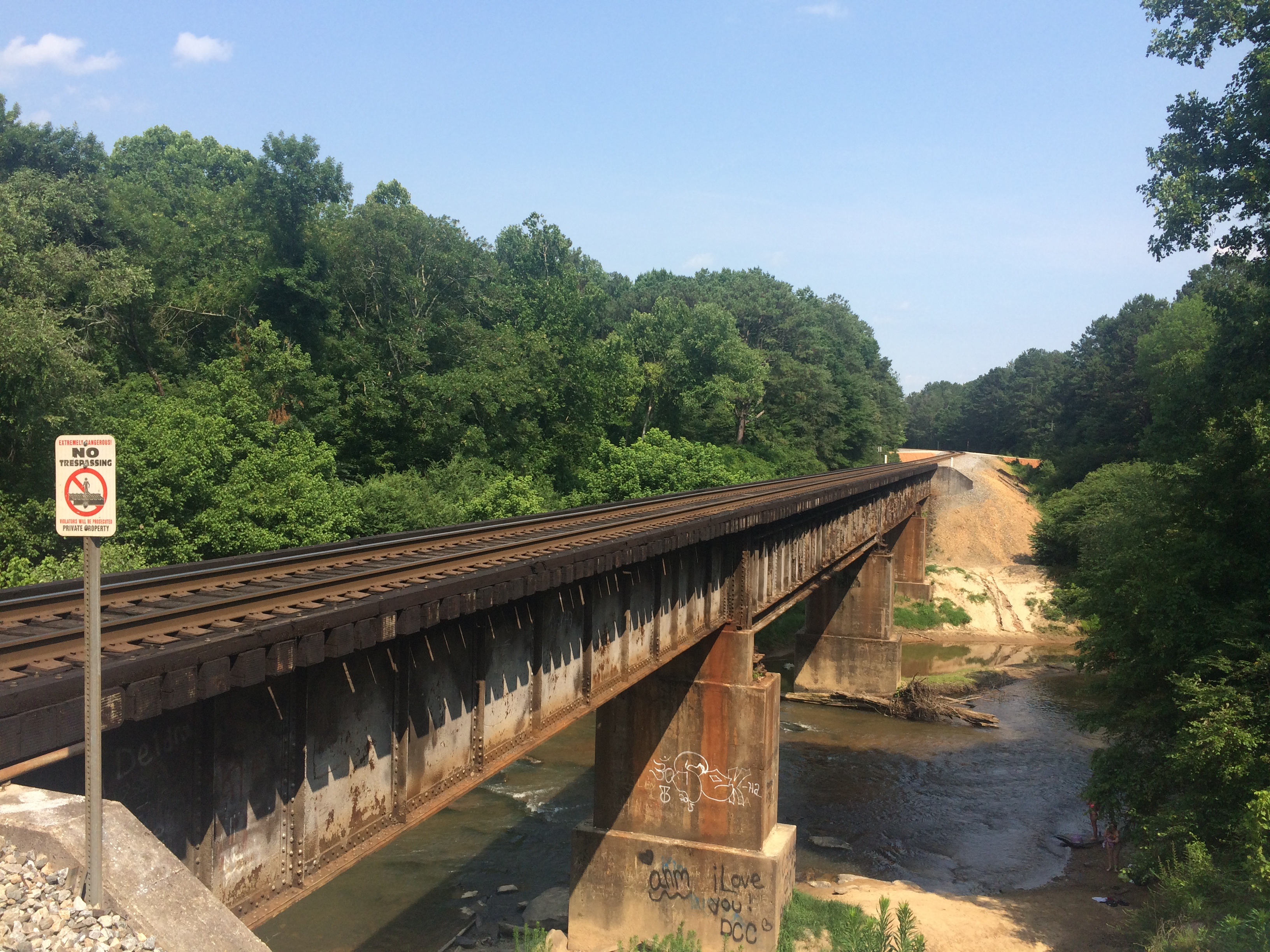 Railroad Trestle at Hwy 78