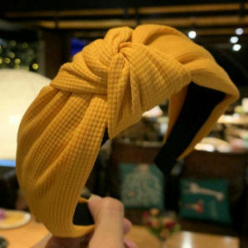 Mustard Hairband