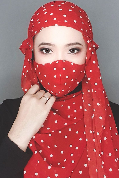 NOMAD DOTTY RED