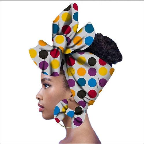 Carla Headwrap + Earrings