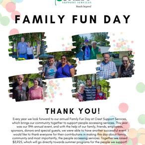 2019 Family Fun Day