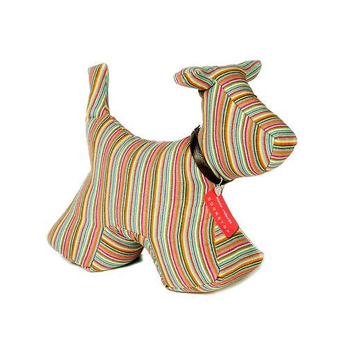 Dog Doorstop Candy Stripe