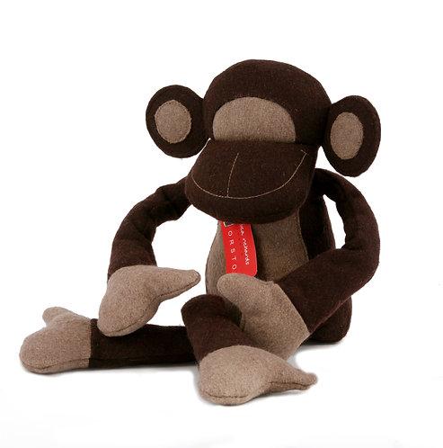 Monkey Doorstop Felt